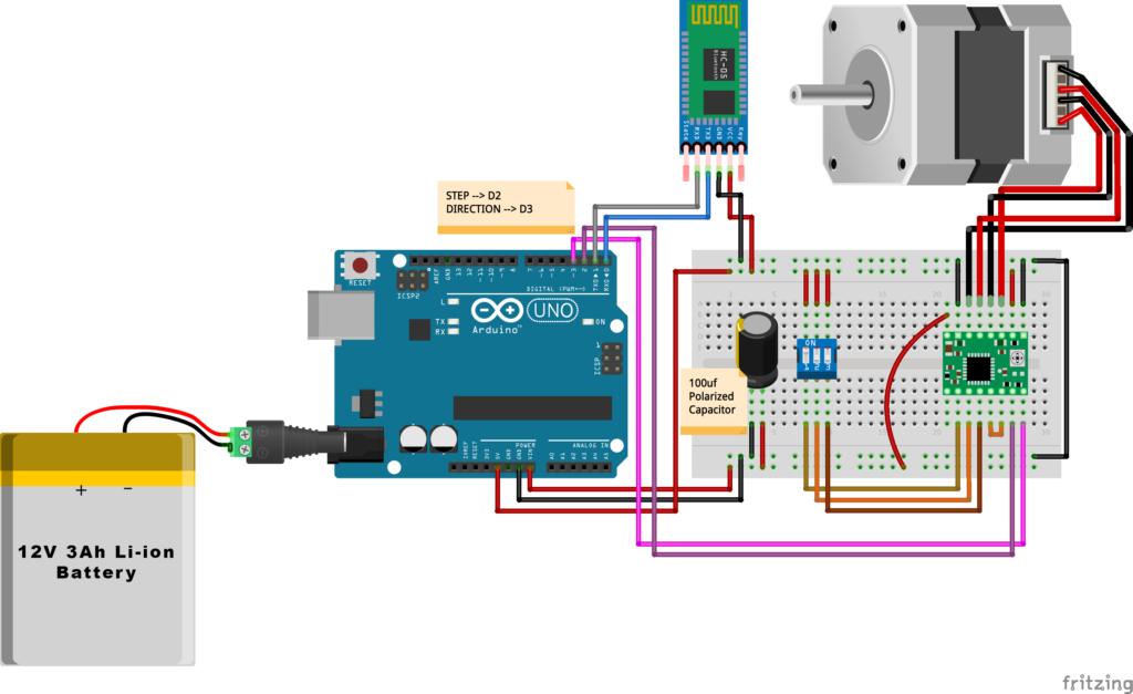 HC-05 Wiring Diagram