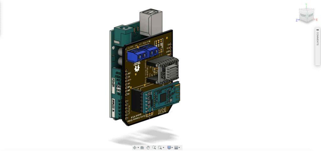 Cairo Camera Slider Arduino Shield